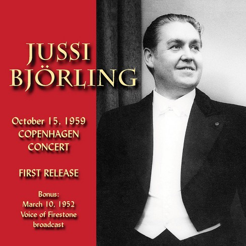 Jussi bjorling - In copenhagen 1959 (CD) - image 1 of 1