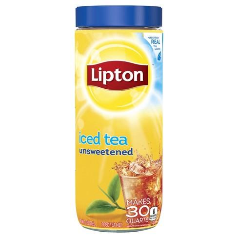 Lipton Unsweetened Iced Tea Mix - 30 qt - image 1 of 4