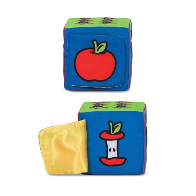 Melissa & Doug K's Kids Match and Build Soft Blocks Set