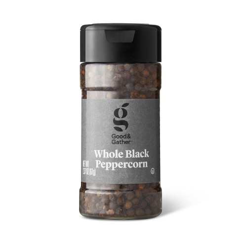 Whole Black Peppercorn - 2.37oz - Good & Gather™ - image 1 of 2