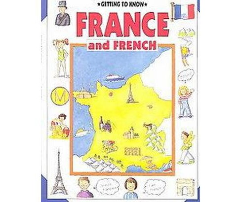 France and French (Paperback) (Nicola Wright) - image 1 of 1