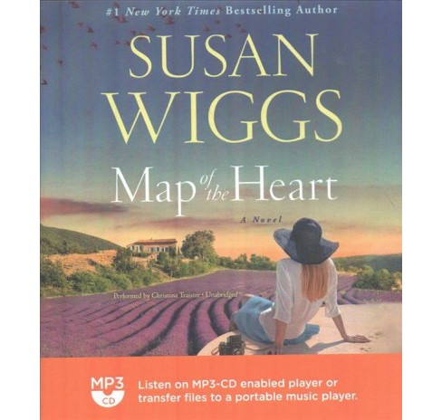 Map of the Heart (MP3-CD) (Susan Wiggs) - image 1 of 1