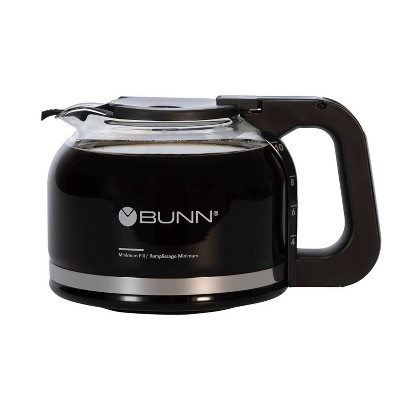 BUNN 10-Cup Glass Decanter - Black