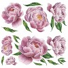 Large Peony Peel and Stick Giant Wall Decal - RoomMates - image 2 of 4