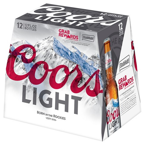 Coors Light® Beer - 12pk / 12oz Bottles - image 1 of 3