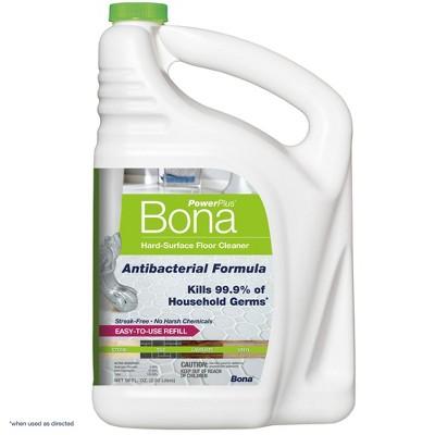 Bona PowerPlus Hard Surface Antibacterial Floor Cleaner Refill - 96 fl oz