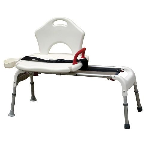 Drive Medical Folding Universal Sliding Transfer Bench - image 1 of 4
