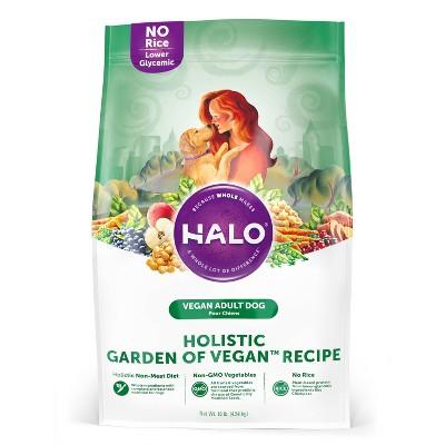 Halo Holistic Garden of Vegan Recipe Adult Dry Dog Food