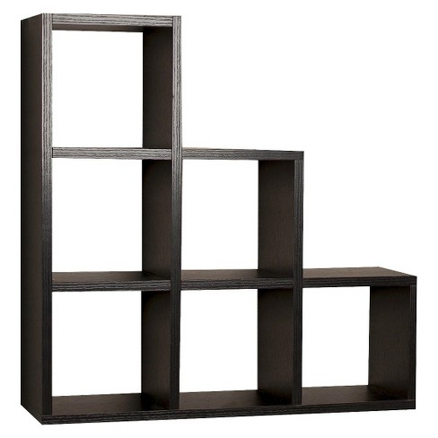 Stepped Six Cube Decorative Wall Shelf - image 1 of 2