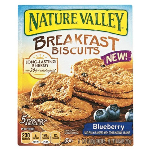 Nature Valley Blueberry Breakfast Biscuits 8.85 oz 5 ct - image 1 of 1