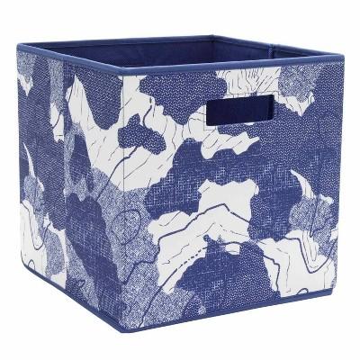 Nautical Toy Storage Bin Blue - Pillowfort™