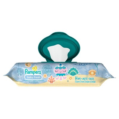 Pampers Baby Fresh Wipes - 64ct