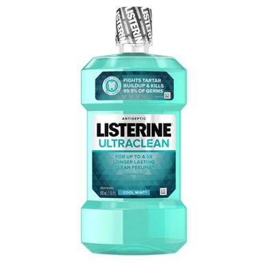 Mouthwash: Listerine Ultraclean