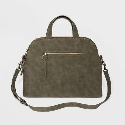 Triple Compartment Satchel Handbag - Universal Thread™