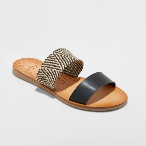 Women's dv Daedra Woven Stretch Two Band Slide Sandals - image 1 of 3