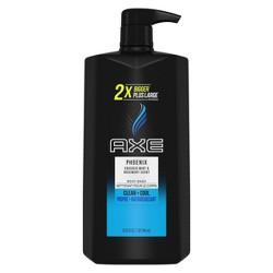 AXE Phoenix Clean + Cool Crushed Mint & Rosemary Scent Body Wash Soap - 32 fl oz