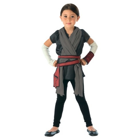 Star Wars Rey - Costume Top, Belt and Detached Sleeves - image 1 of 1