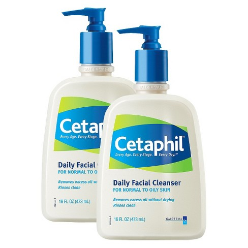 Cetaphil Normal to Oily Skin Daily Facial Cleanser Set - 2 Pack - image 1 of 1