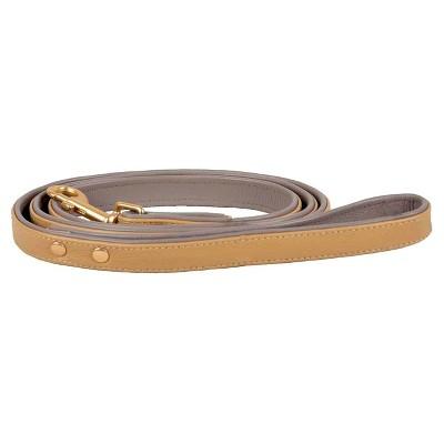 Leather Dog Leash - Caramel Sauce - 5ft Long - Boots & Barkley™