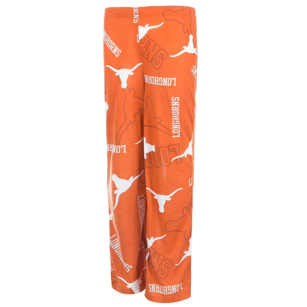 Texas Longhorns Boys' Team Logo Print Lounge Pants - Orange - XS