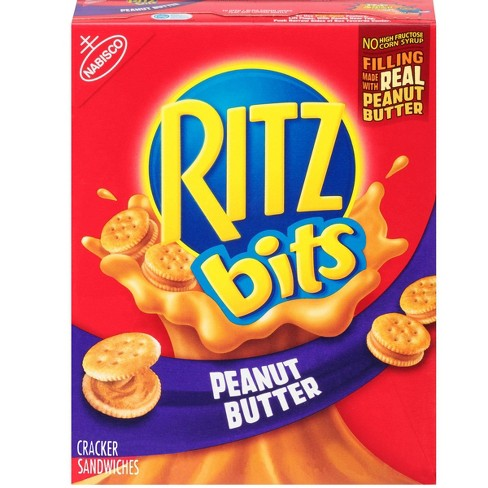 Ritz Bits Cracker Sandwiches with Peanut Butter - 8.8oz - image 1 of 4