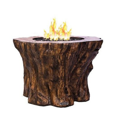 Pioneer Propane Fire Pit Brown Sunbeam Target