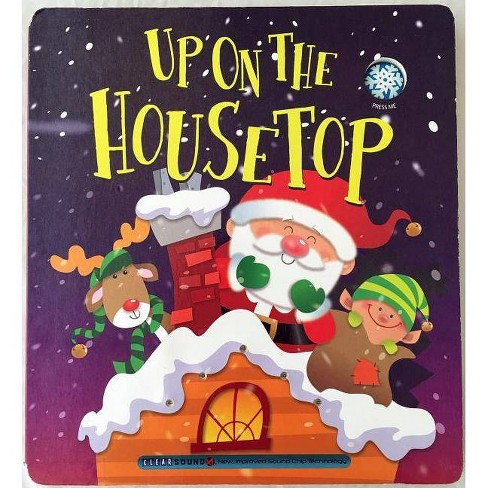 Christmas Carol Book.Up On The Housetop Christmas Carol Book By Ron Berry Board Book