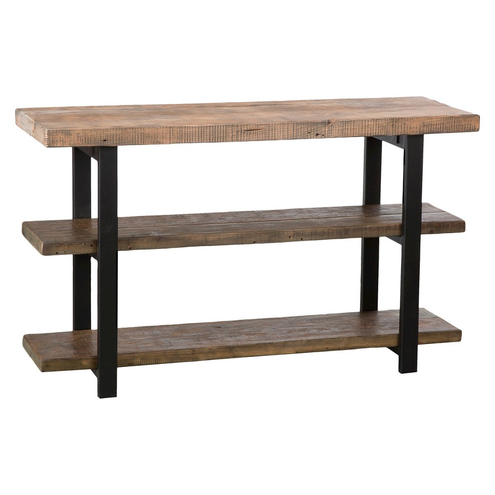 2-shelf Console Table Brown - Alaterre Furniture