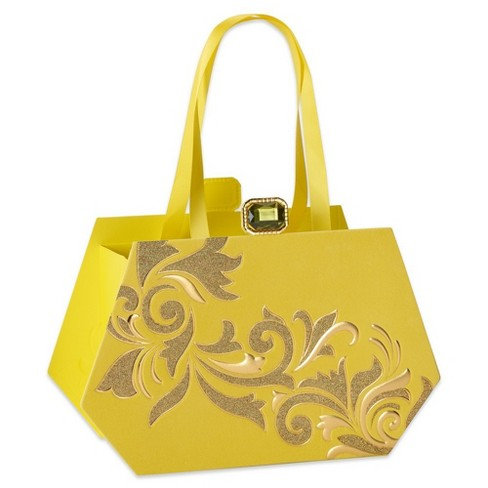 Papyrus Yellow Clutch Mother's Day Medium Specialty Gift Bag - image 1 of 3