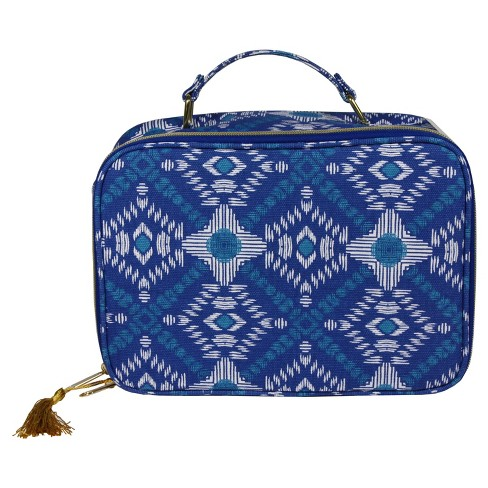 Contents Indigo Love Weekender Makeup Bag - image 1 of 2