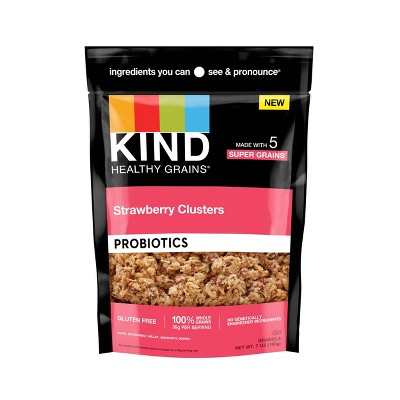 KIND Strawberry Probiotic Clusters - 7oz