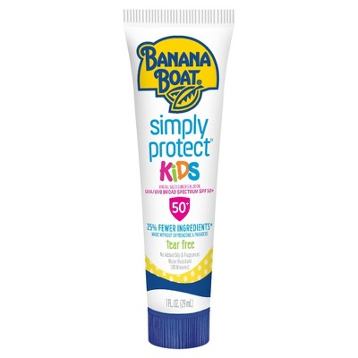 Sunscreen & Tanning: Banana Boat Simply Protect Kids