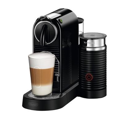 Nespresso Citiz & Milk Espresso Maker Black by DeLonghi