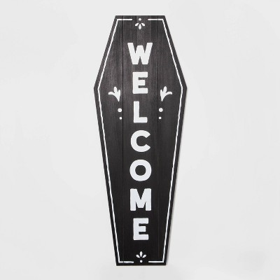 Trick or Treat/Welcome Large Reversible Halloween Sign - Hyde & EEK! Boutique™