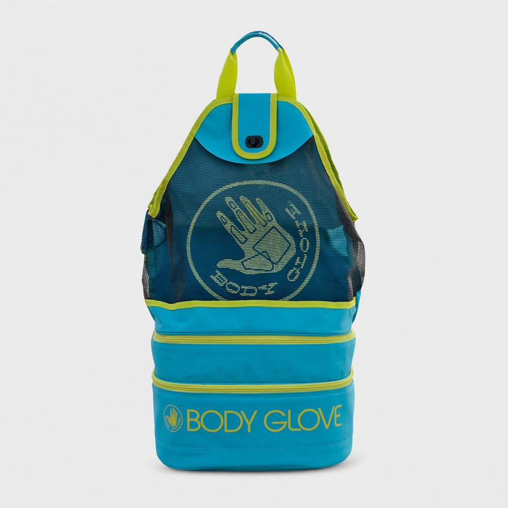 Image of Expandable Beach Cooler Tote - Blue - Body Glove