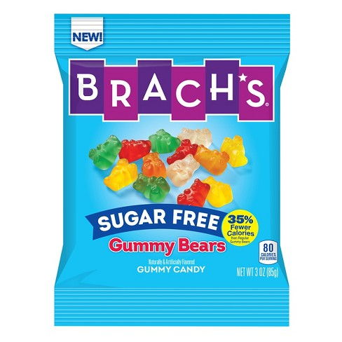 Brach's Sugar Free Gummi Bears - 3oz - image 1 of 1