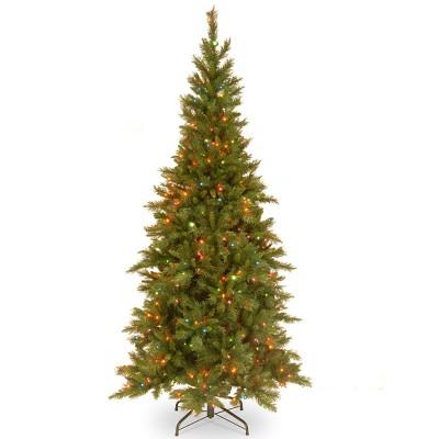 7.5ft National Christmas Tree Company Tiffany Fir Artificial Christmas Tree 550ct Multicolored