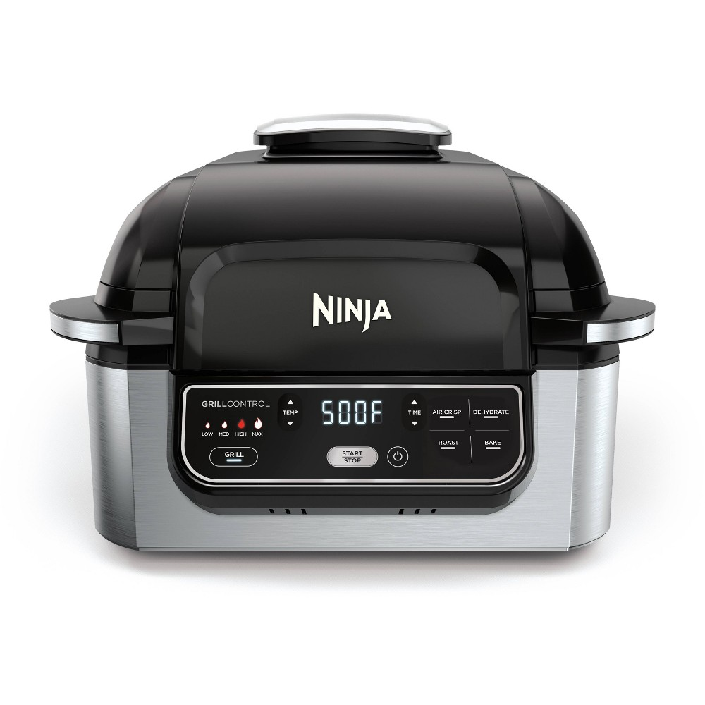 Image of Ninja Foodi 4qt 5-in-1 Indoor Grill and Air Fryer - AG301