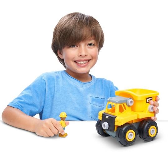 CAT Build Your Own Vehicle Junior Crew Dump Truck image number null