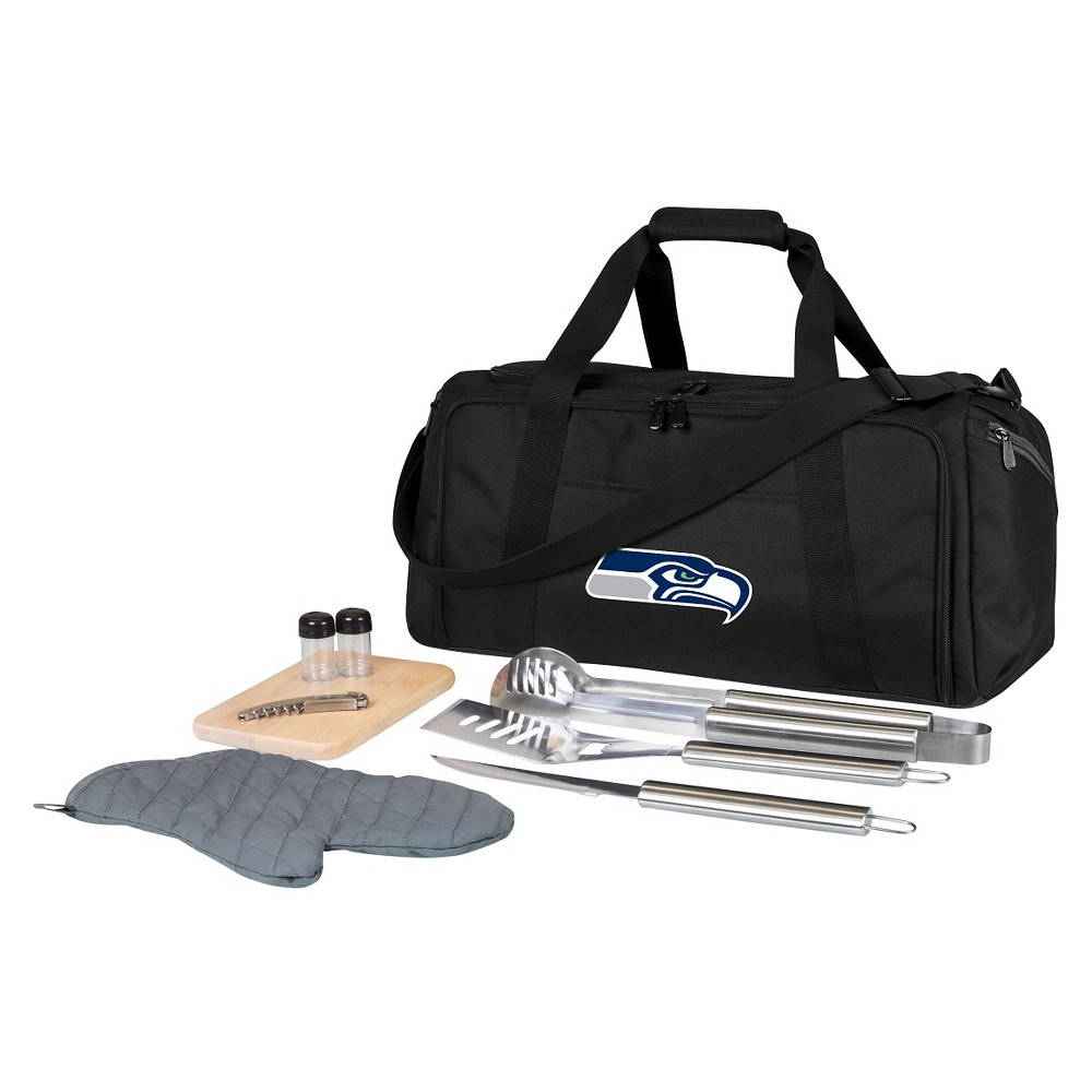 Seattle Seahawks - Bbq Kit Cooler by Picnic Time