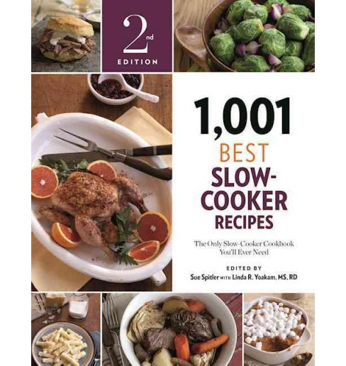 1,001 Best Slow-Cooker Recipes : The Only Slow-Cooker Cookbook You'll Ever Need (Paperback) (Sue - image 1 of 1