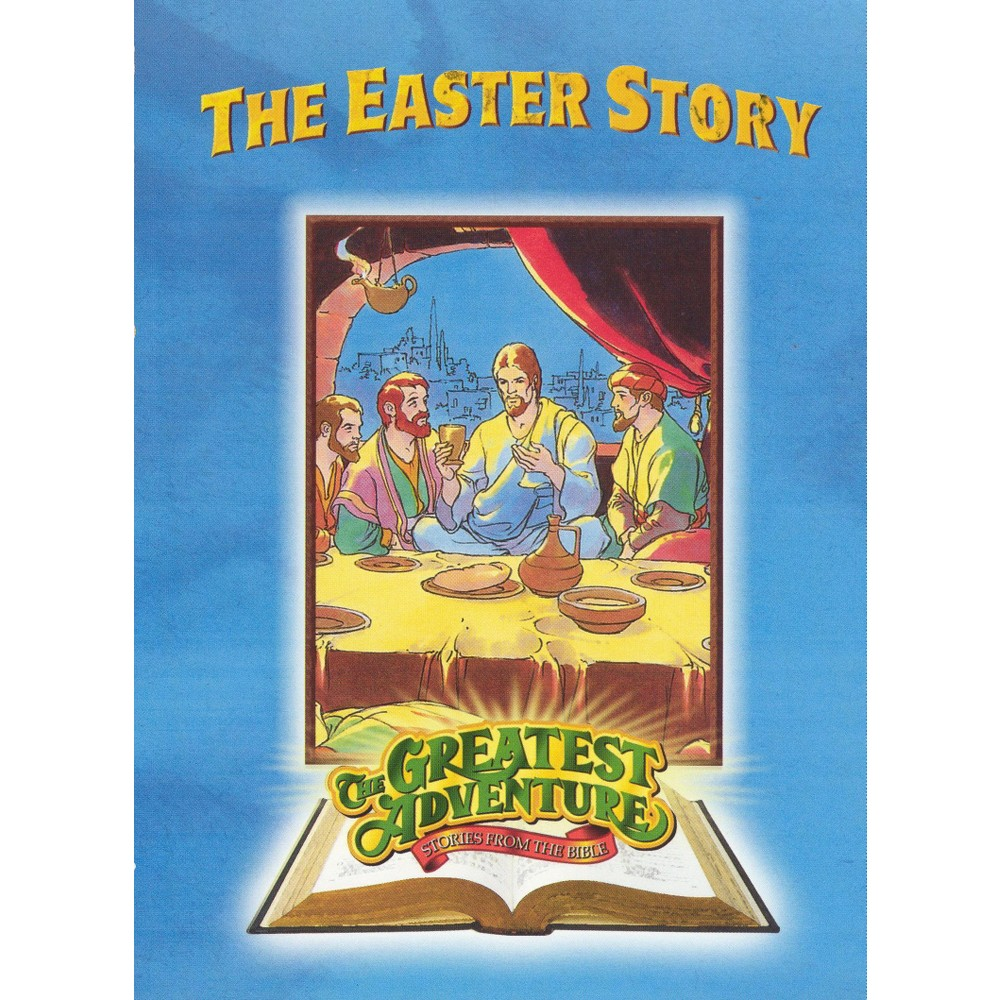 The Greatest Adventure Stories From the Bible: The Easter Story (dvd_video)