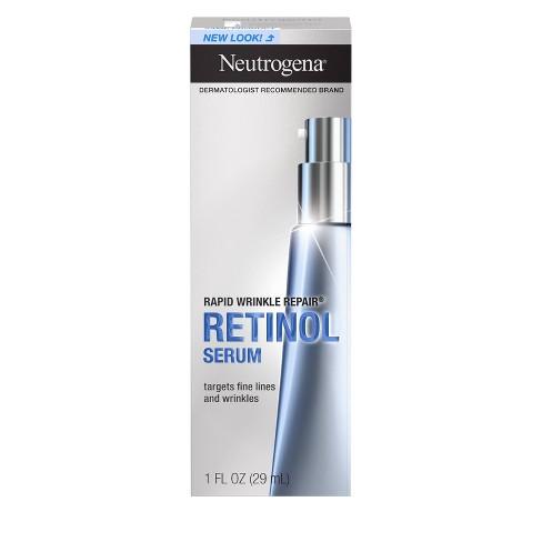 Neutrogena Rapid Wrinkle Repair Hyaluronic Acid & Retinol Serum - 1 fl oz - image 1 of 4