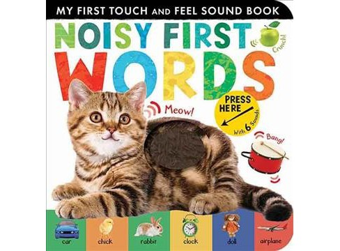 Noisy First Words -  (My First) by Libby Walden (Hardcover) - image 1 of 1