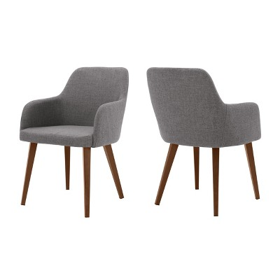 Set of 2 Alistair Dining Chair Gray - Christopher Knight Home