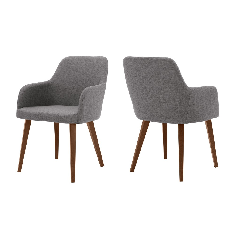 Alistair Dining Chair - Gray (Set of 2) - Christopher Knight Home