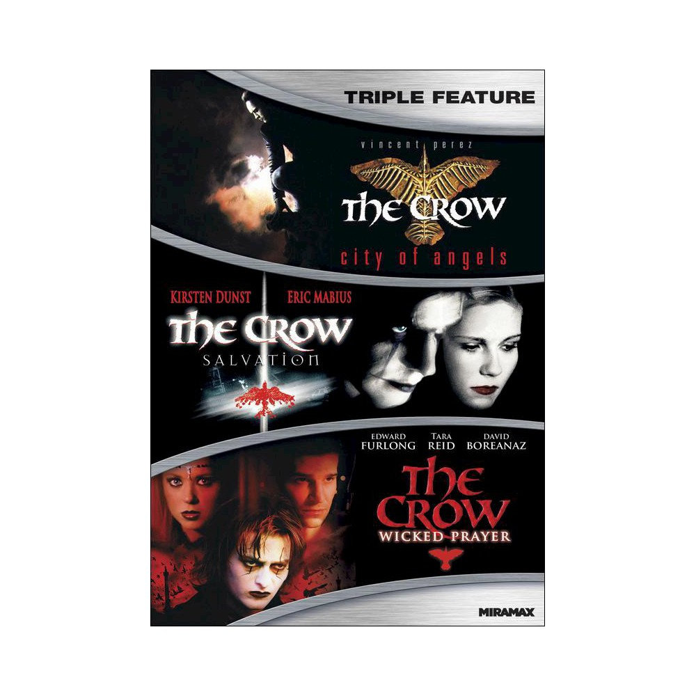 Crow Collection (Dvd), Movies