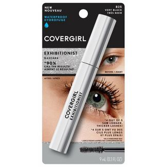 COVERGIRL Exhibitionist Mascara 825 Waterproof Very Black - 1.15 fl oz