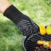 L-XL Professional High Temp Grill Glove Black - Outset - image 2 of 2