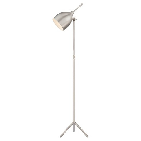 Ulric Floor Lamp Polished Steel (Includes Energy Efficient Light Bulb) - Lite Source - image 1 of 2
